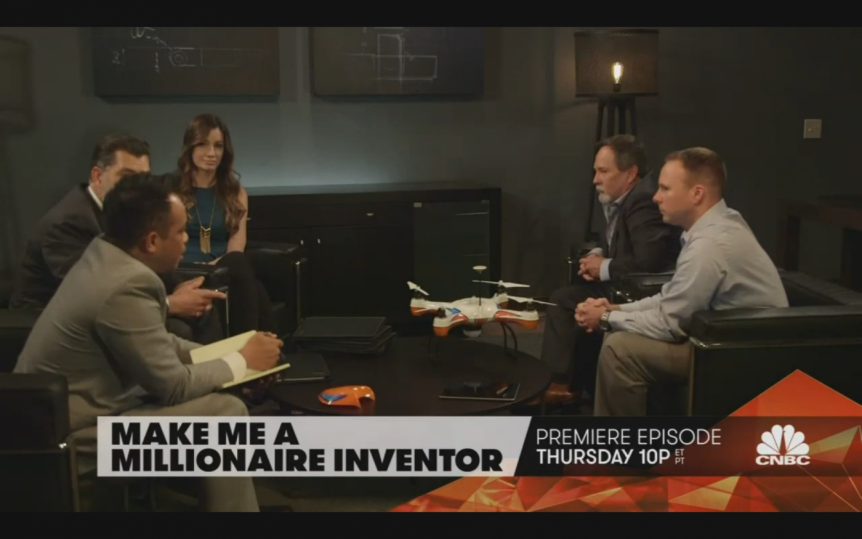 CNBC'S 'MAKE ME A MILLIONAIRE INVENTOR' · Action Drone USA