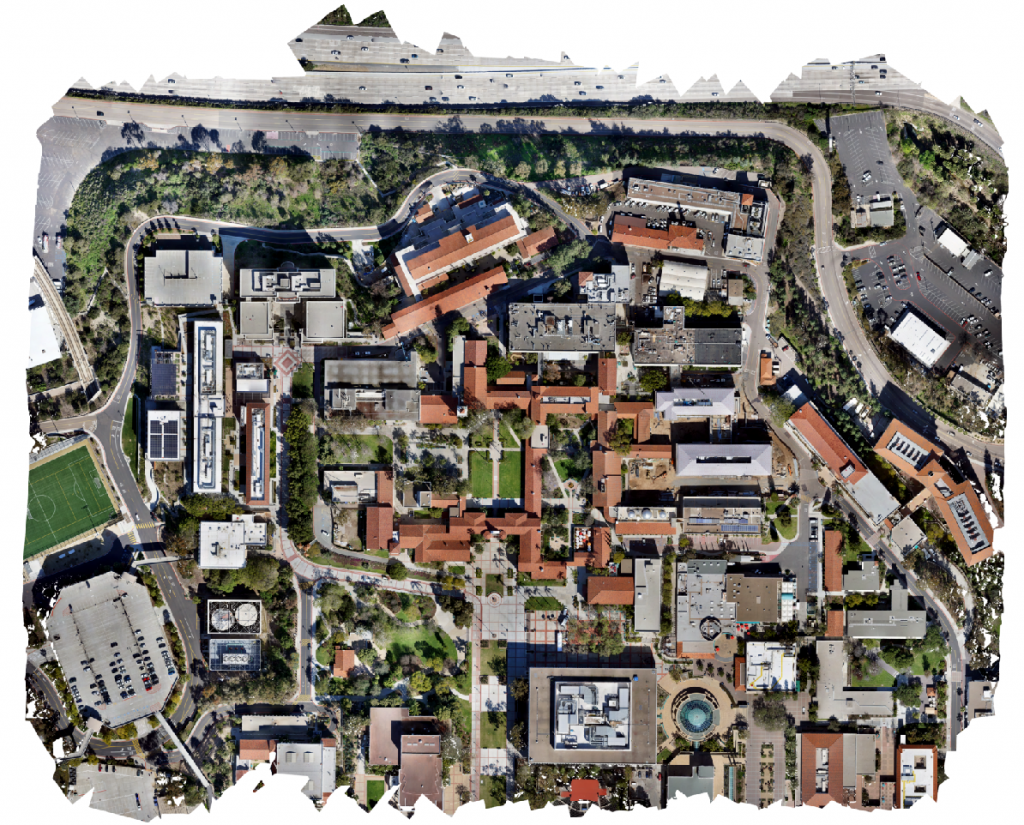 San Diego State University 3D drone mapping